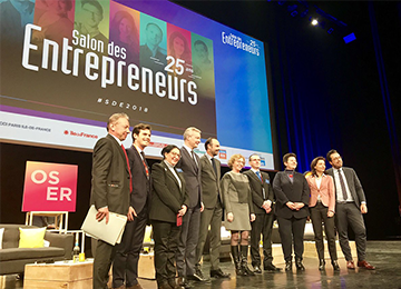 Participation au Salon des Entrepreneurs 2018