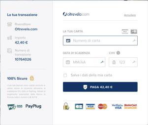 Aletrevela - one click pagamento