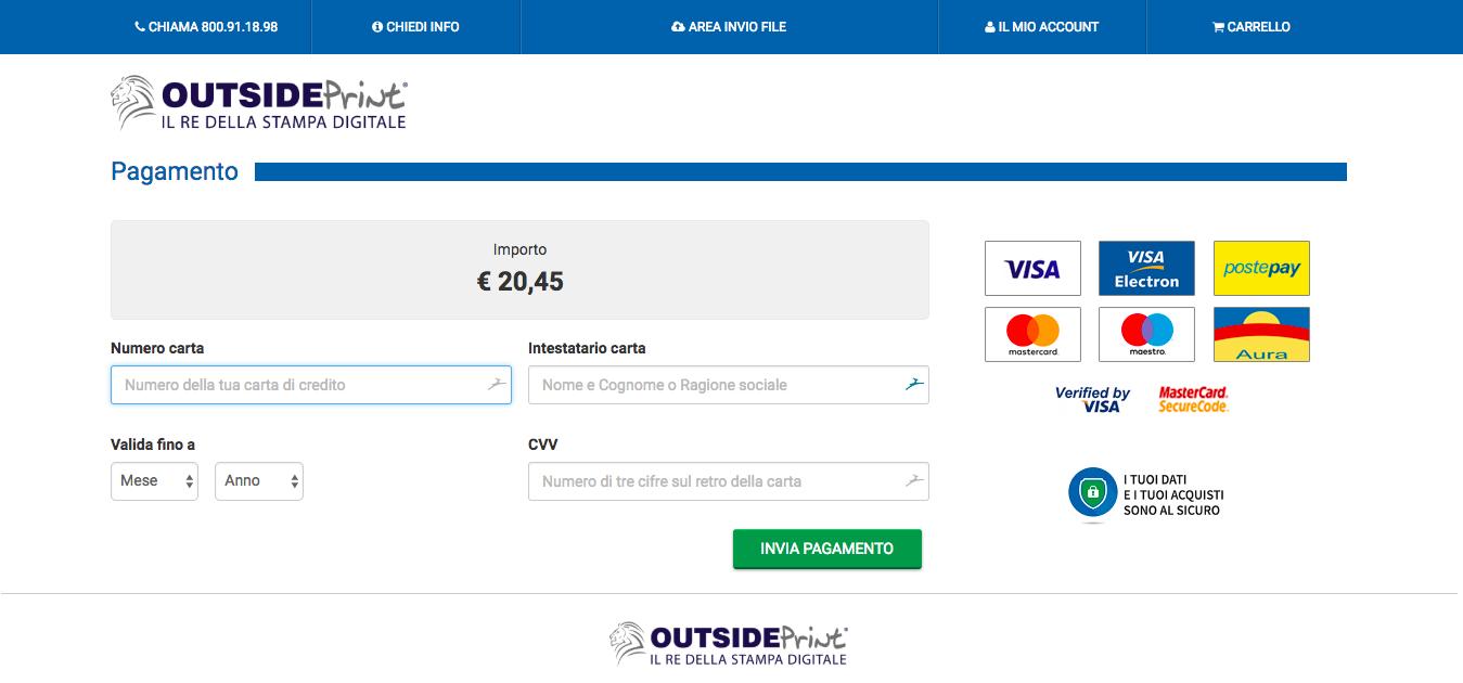 Image page de paiement