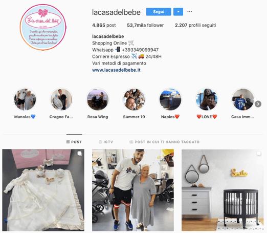 Instagram La Casa Del Bebè