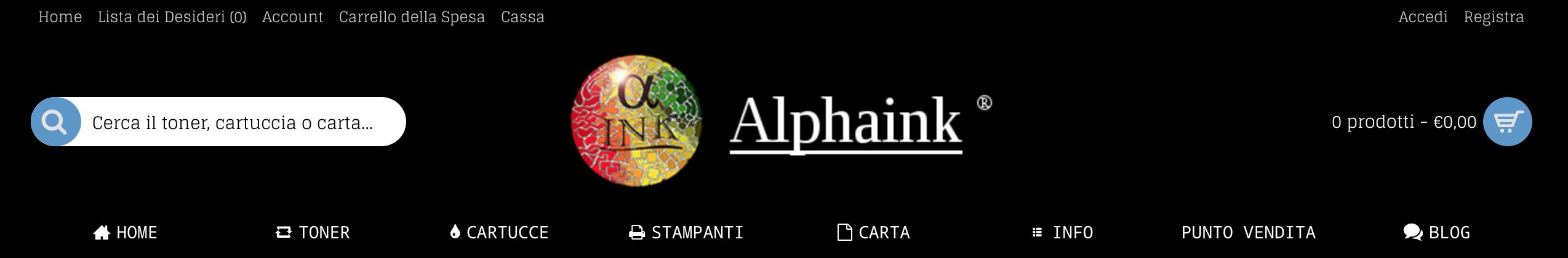 Alphaink