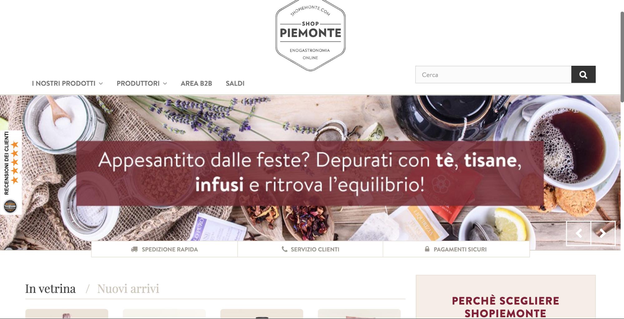 Shop Piemonte