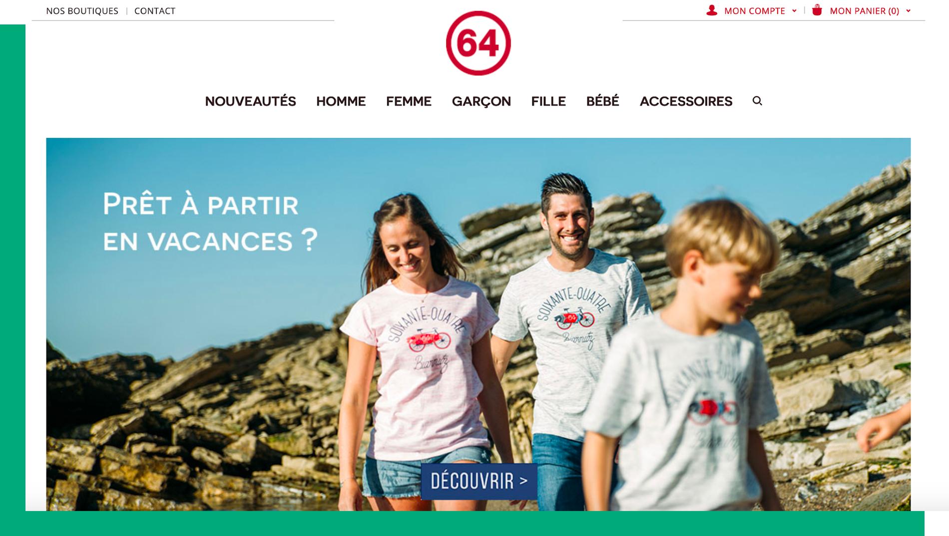 64 homepage