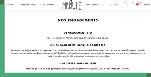 Engagements Marlette