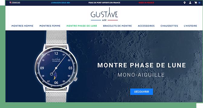Choix des couleurs Gustave