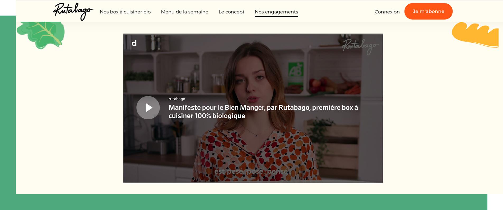 Video manifeste Rutabago