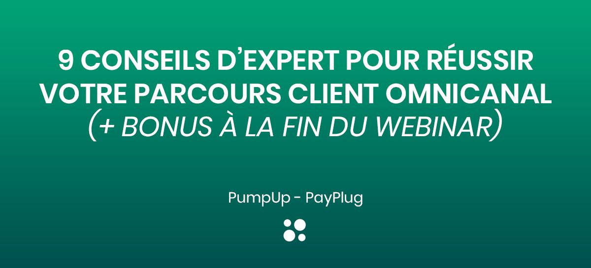 Webinar PumpUp