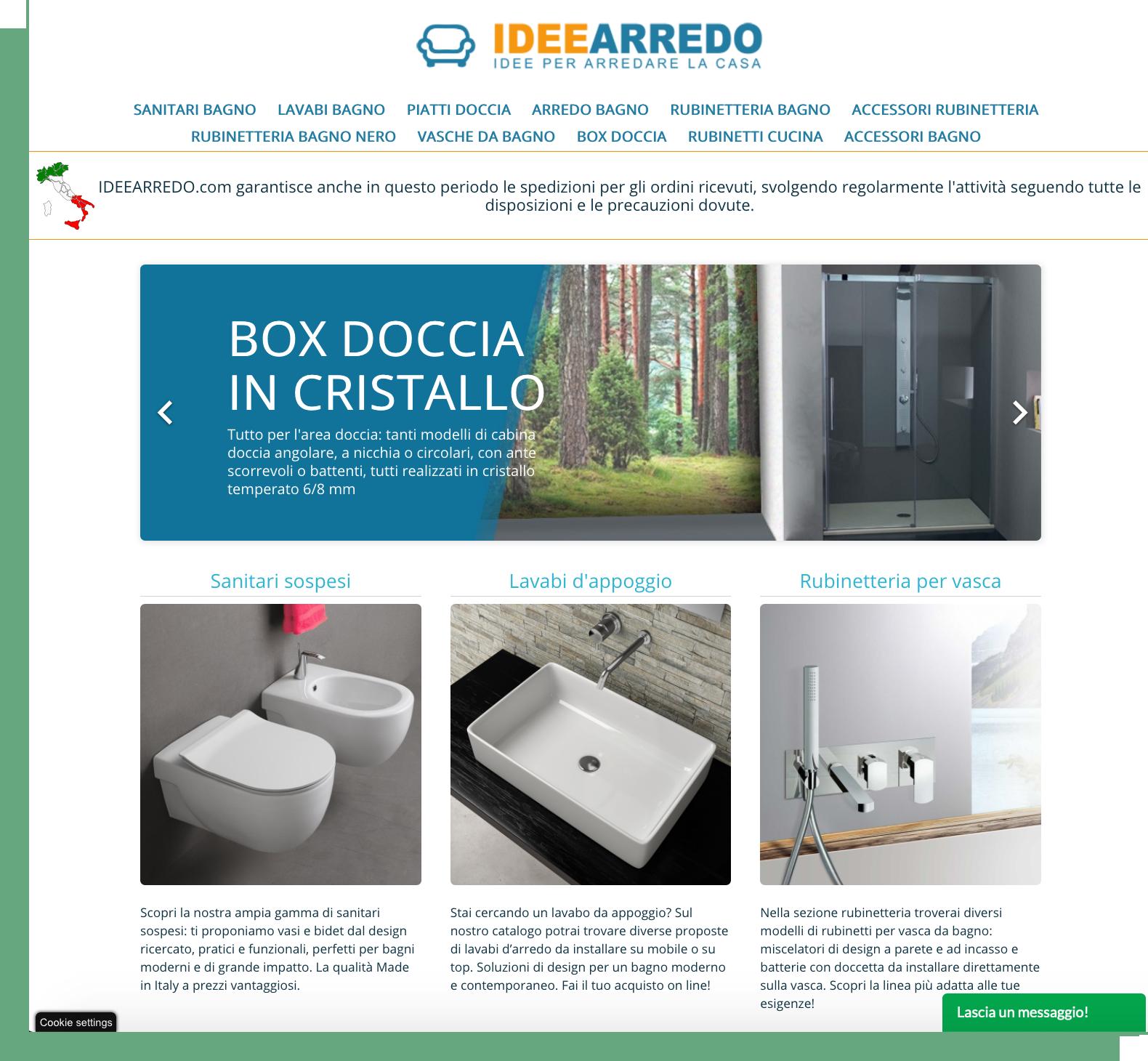 Homepage IDEEARREDO