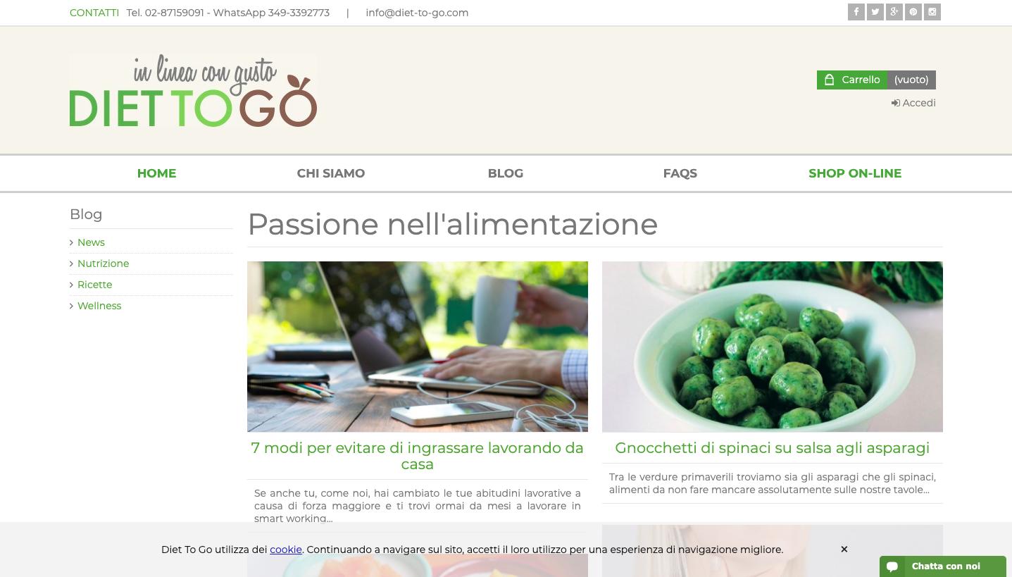 Blog Diet-To-Go