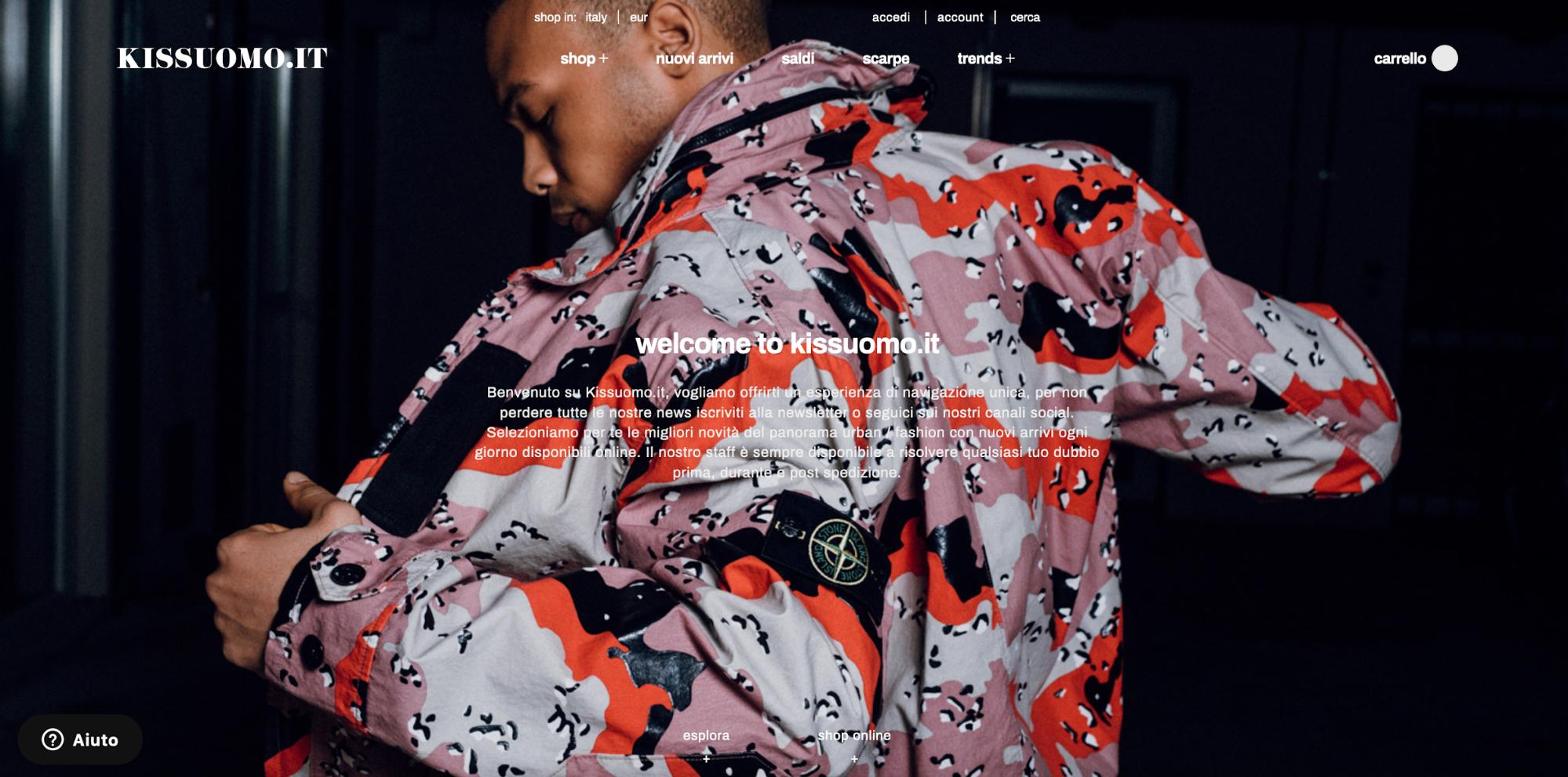 Kissuomo homepage