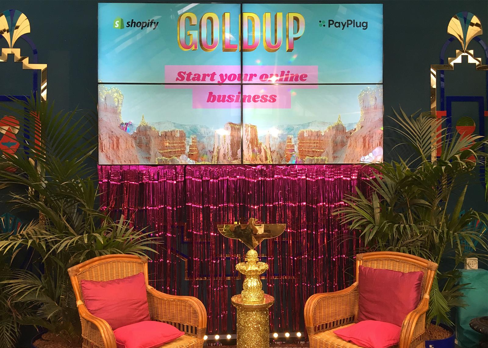 Soirée de lancement Goldup