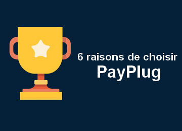 Infographie: 6 raisons de choisir PayPlug
