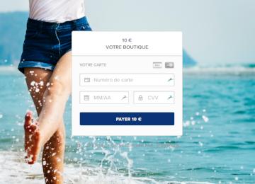 Spécial été: images pour personnaliser votre page de paiement