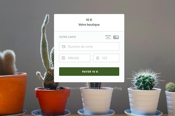 Nouveau template de page de paiement PayPlug