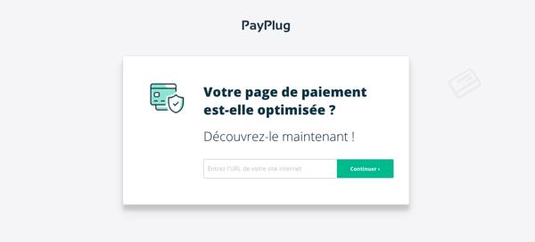 outil évaluation page paiement