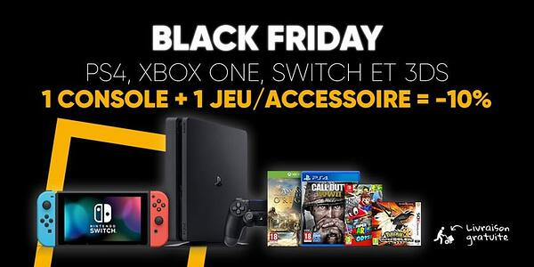 Exemple offre spéciale Black Friday