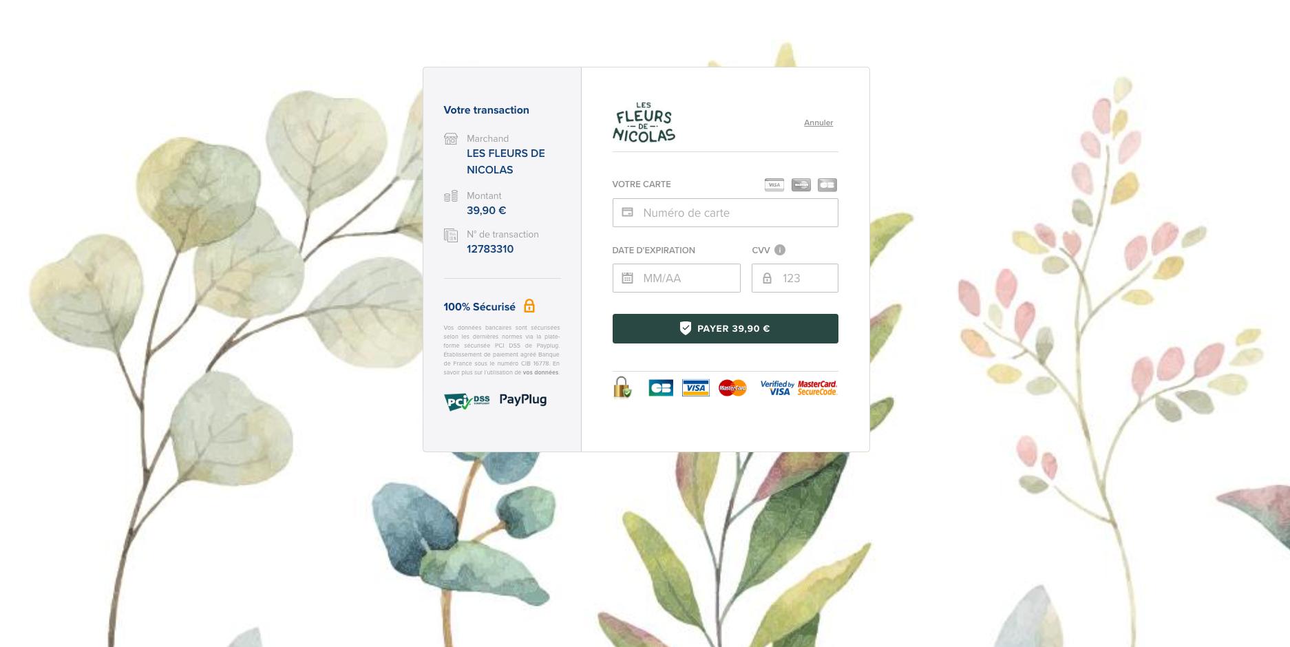 Page de paiement personnalisée sur Magento 2