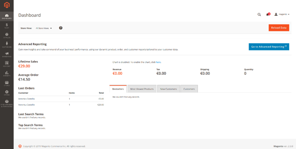 Module de paiement en ligne sur Magento 2