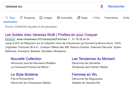 Google Ads Vanessa Wu