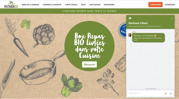 Homepage Rutabago