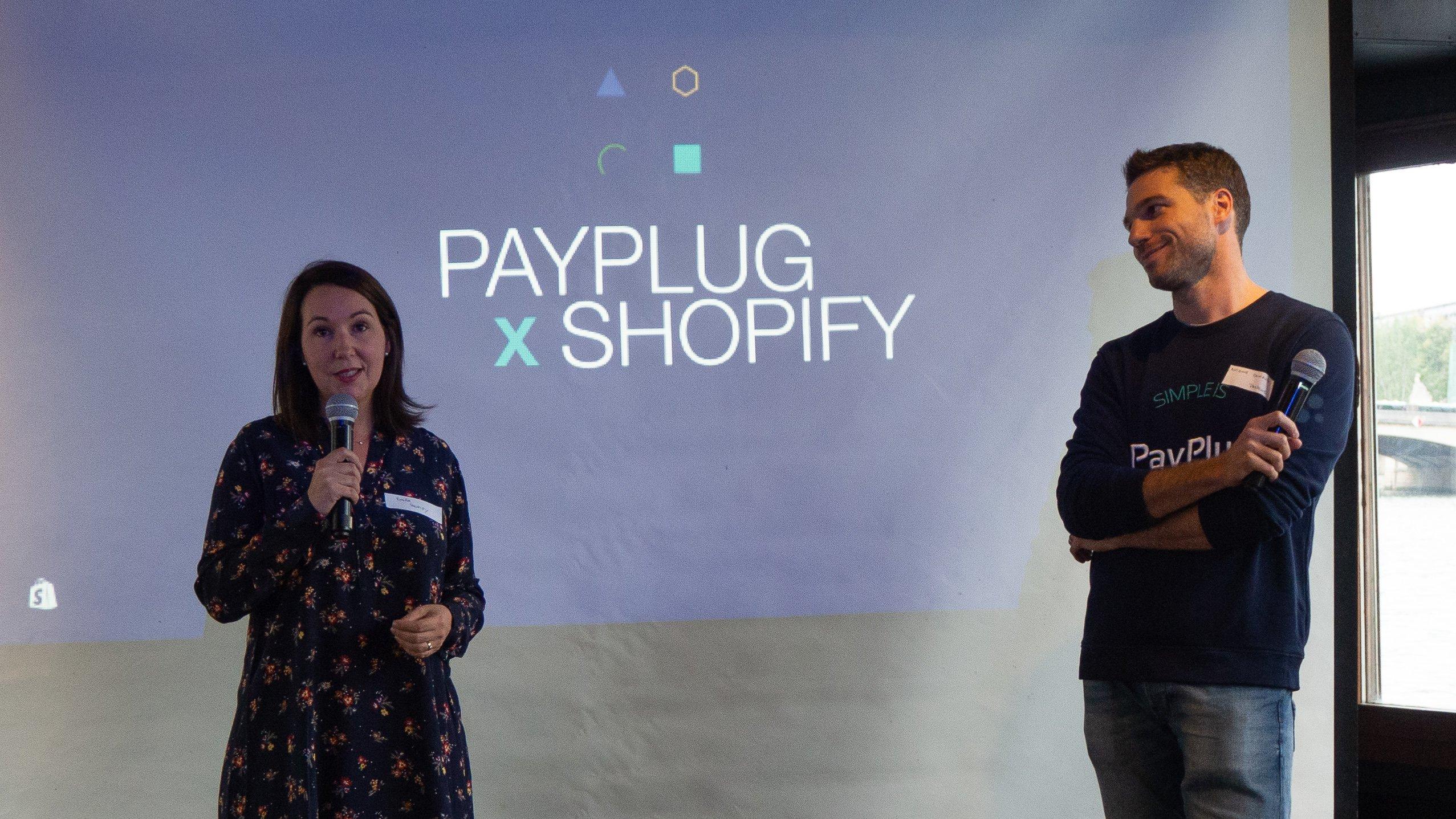 Soirée PayPlug x Shopify