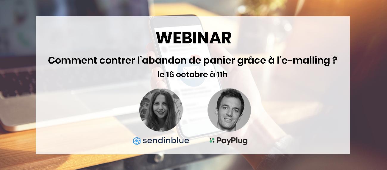 Webinar PayPlug x Sendinblue