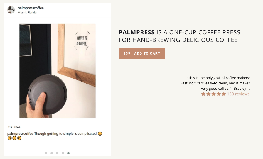 Avis client Palmpress