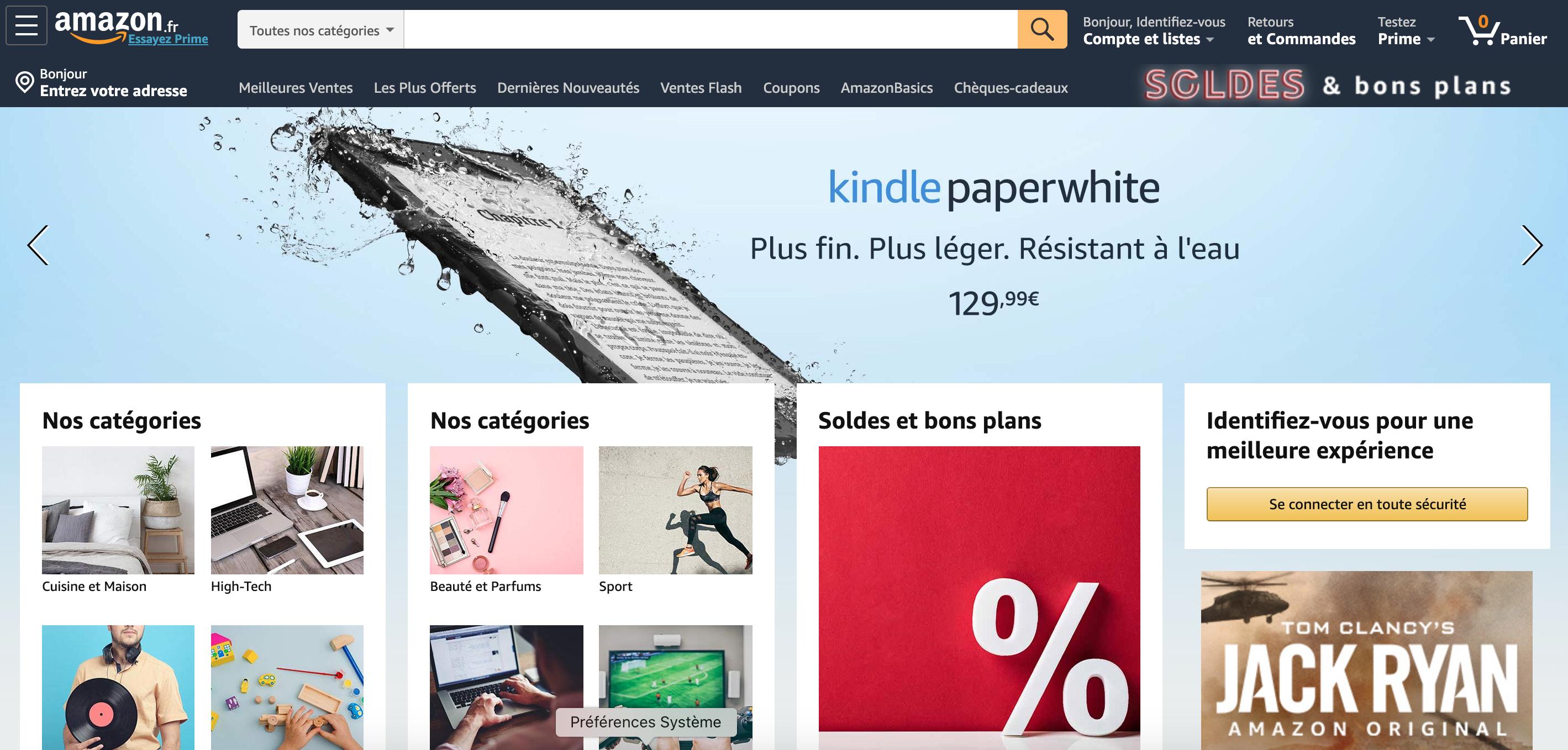 Amazon, les clés d'un service client réussi