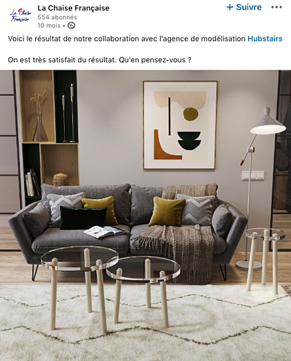 La Chaise Française LinkedIn