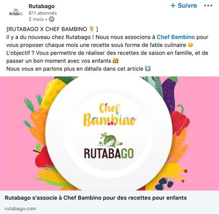 Rutabago LinkedIn