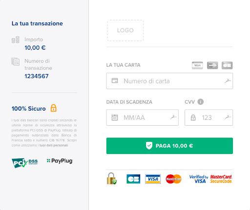 Nencinisport pagina di pagamento