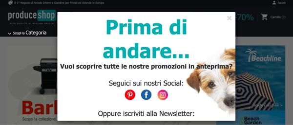 Pagina ProduceShop