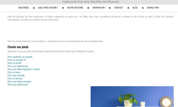 Guide La Fabrique Des Pieds