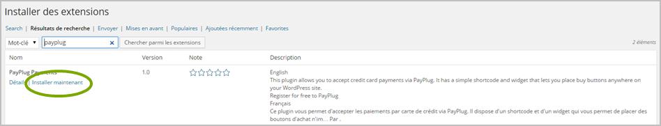 PayPlug pour Wordpress