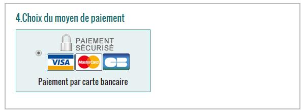 Choix du moyen de paiement disponible sur votre boutique lorsque PayPlug est activé