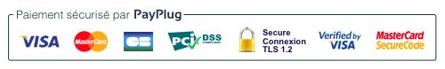Badge PayPlug - Montrez à vos clients que vos paiements sont sécurisés
